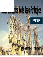 Design of Electrical Works for Projects