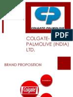 Colgate palmolive branding