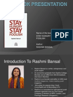 book review,ppt,stay hungry stay foolish