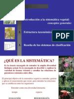 Clase Taxonomia y Sistematica Vegetal