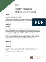 IEEE UET PESHAWAR CONSTITUTION