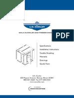 U.S. Cooler Manual