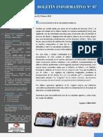 Boletín Informativo N° 07