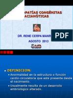 06 Cardiopatias Congenitas Acianoticas Agosto 2013 - Dr Rene Cerpa