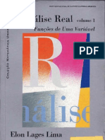 Analise Real Vol 1 Elon Lages Lima