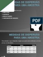 Aula_5_Medidas de Dispersão para uma Amostra_alunos