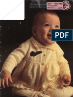 Sirdar 511 Baby Layette Knitting Pattern
