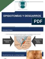 Episiotomías y desgarros 1