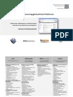 Funktionsübersicht der eLearning-Plattformen
