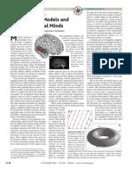 Zatorre, R. J., & Krumhansl, C. L. (2002). Mental Models and Musical Minds. Science, 298(5601), 2138-2139.