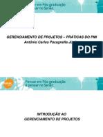 Introdução ao gerenciamento de projetos - aula 1