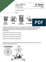 Ciencias - 6 Serie - EF