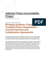 NLG Bringing Systemic Changes to Troubled Police Depts. NLG (Oct. 2013)