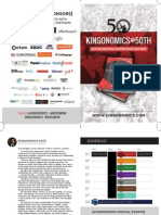Kingonomics @50th Program, Sponsors & Letter From Founder