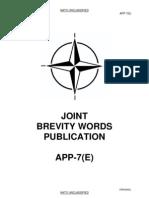 Joint Brevity Words Publication (App-07e)