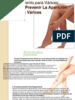 Tratamiento para Várices_como prevenir