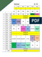 5a Schedule