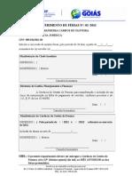MODELO-REQUISIÇÃO DE FÉRIAS