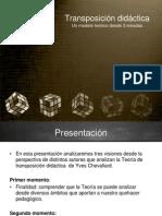 presentación transposición grupo 2