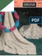 Sirdar 3007 Knitting - Square and Circular Shawls