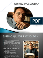 Eusebio Quiroz Paz Soldan
