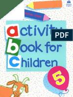 Activity Book for Children 5