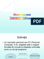 L1 -Structura Unui Calculator Personal