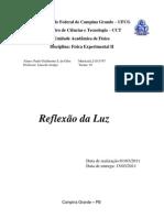 relatório 1 (Reflexão da Luz)