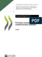 Principes européens d'administration publique