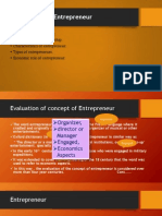 introduction to entrepreneur