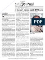 Law Firms Vie for Biotech Clients Amid IPO Boom