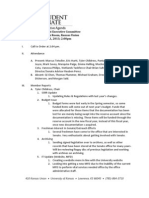 University of Kansas StudEx Minutes 21 June2013
