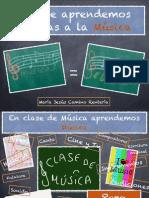 Que Aprendemos en Clase de Musica