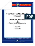 FSEC Solar Water and Pool Heating Manual
