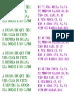 Músicas extras para caderno alfabeto