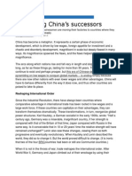Identifying China's Successors