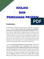 Biokim Isolasi Dan Pemisahan Protein
