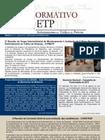 Informativo Enfrentamento ao Tráfico de Pessoas nº 14 - agosto de 2013