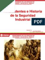 1.- Antecendentes Historico de La Seguridad Industrial