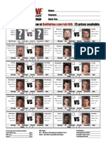 Bet on MMA UFC 100 Fight Card