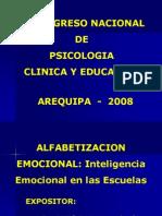Luis Zapata-Alfabetizacion Emocional en Las Escuelas