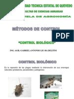 CONTROL BIOLÓGICO PLAGAS Y ENFERMEDADES