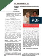 Akibat Hukum Di Dalam Negeri Pengesahan Perjanjian Internasional (Tinjauan Hukum Tata Negara)