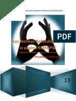 Las Normas Refundidas de la página REMAPSE  -10Sep2013-
