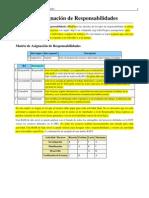 Matriz de Asignacion de Responsabilidades (MAR)