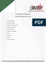 PLAN NACIONAL DE DESARROLLO CUT MÉXICO INCLUYENTE