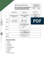 Manual de Procedimiento de Cuarentena Interna
