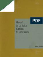 MANUAL DE CONTRATOS PÚBLICOS DE INFORMÁTICA