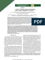 Respostas de colônias de Plebeia catamarcensis Holmberg (Hymenoptera, Apidae, Meliponina) à orfandade _ Pinho _ Revista Brasileira de Biociências.pdf