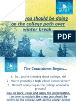 what you should do over winter break
